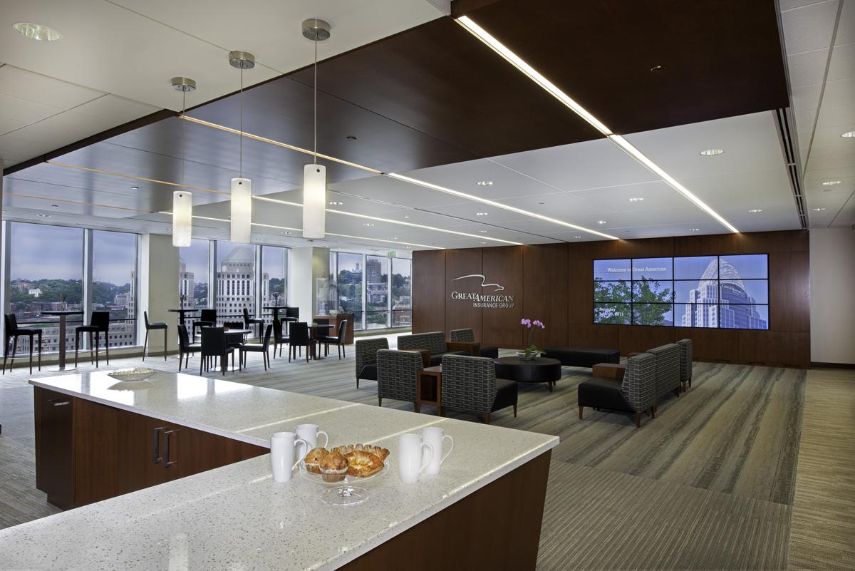 Great American Insurance Corporate Headquarters : KZF Design Designing Better Futures